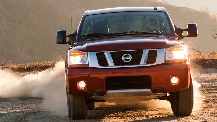 Nissan titan off road