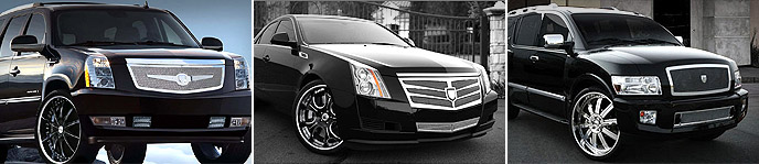Lincoln Billet Grilles